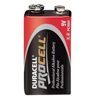 Duracell Pro Cell Alkaline 9V PC1604 12 PACK