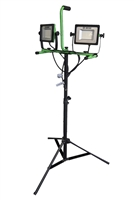 Hybrid Power Solutions 10000 Lumen Dual-Head LED Work Light with Tripod