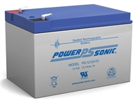 Powersonic PS-12120 F2 - 12V 12Ah Sealed AGM Lead Acid Battery