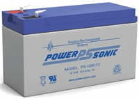 POWERSONIC 12V 9Ah SLA PS-1290F2