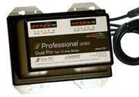 DUAL PRO Charging Systems - PS2 Two 15 AMP Banks 30 Amps 12V, 24V