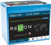 ReLion RB50-HP LITHIUM MARINE BATTERY