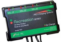 DUAL PRO Charging Systems - RS3/IS3 Three 6 Amp Bank 6 Amps 12V