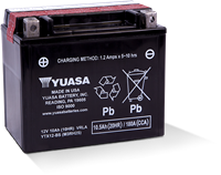 YTX12-BS POWERSPORT AGM BATTERY
