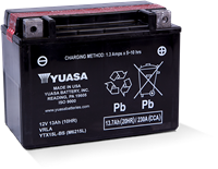 YTX15L-BS POWERSPORT AGM BATTERY