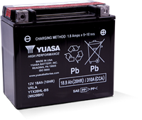 YTX20HL-BS POWERSPORT AGM BATTERY