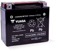 YTX20L-BS POWERSPORT AGM BATTERY
