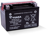 YTX9-BS POWERSPORT AGM BATTERY