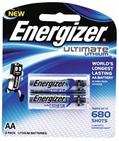 Energizer Ultimate Lithium 1.5v AA - 2 Pack