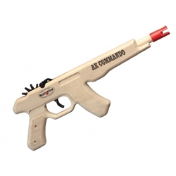 AK Commando Pistol Rubberband Gun