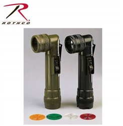 Army Style C-Cell Flashlight
