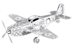 Metal Earth P-51 Mustang Steel Model Kit