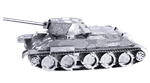 Metal Earth T-34 Tank Steel Model Kit