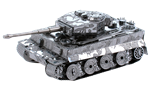 Metal Earth Tiger I Tank Steel Model Kit