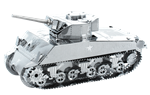 Metal Earth Sherman Tank Steel Model Kit