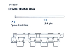 RC Spare Track Bag:  56010 - (Track Link x 8, Link Pin x 5)