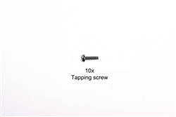 RC 3x10mm Tapping Screw:  58447