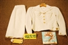 "1973 Dated, US Navy, ""Uniform, Wmen's, Service, White"", Belonging To A WAVE, Woman"
