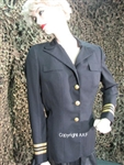 "1963 dated, US Navy, WAVE, Woman's Service Dress Uniform, belonging to Lieutenant Commander ""E. Lindgren"""
