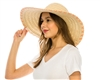 floppy straw sun hats wholesale wide brim beach hat