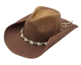 wholesale straw cowgirl hats shells and beads