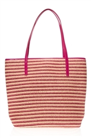 wholesale striped straw lage tote bags