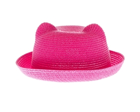 wholesale kitty hats - pink