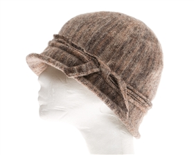 wholesale soft wool marled cloche