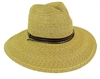 wholesale mixed straw safari hat  cord