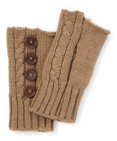 Wholesale Fingerless Gloves - buttons