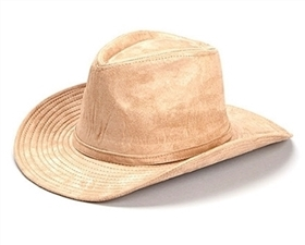 wholesale faux suede cowboy hat