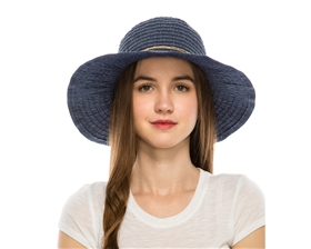 wholesale sun protection hats - womens packable travel hat