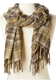 wholesale soft plaid scarf shawl