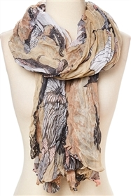 wholesale lightweight printed scarf
