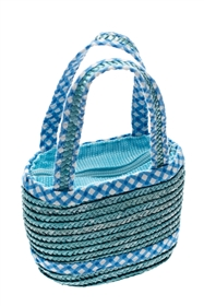 wholesale kids straw bags easter purses