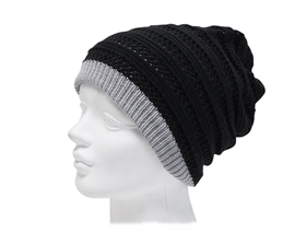 wholesale womens fashion beanies winter hats reversible