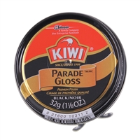 Rothco KIWI Black Parade Gloss Shoe Polish - 10111