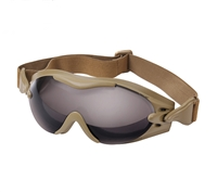 Rothco Coyote Brown Tec Tactical Goggles - 11397