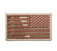 Rothco US Flag Patch With Hook Back - 17772
