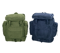 Rothco Canvas European Rucksack - Od / Navy