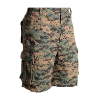 Rothco Woodland Digital Paratrooper Short - 2591
