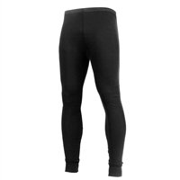Rothco Black Midweight Thermal Knit Bottom 2837