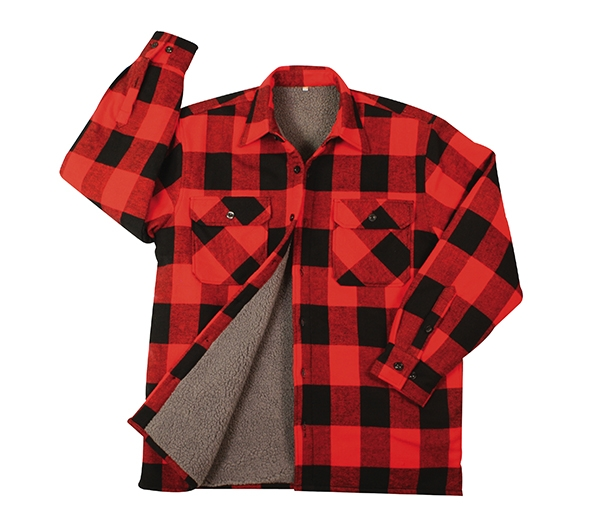 Rothco Heavyweight Sherpa Lined Flannel Shirts 3739