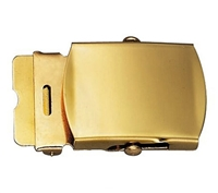 Rothco Brass Plated Web Belt Buckle - 4400