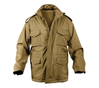 Rothco Coyote Soft Shell M-65 Jacket - 5244