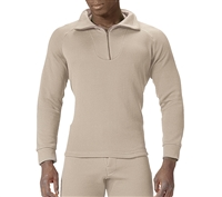 Rothco Desert Sand ECWCS Poly Zip Top - 5425