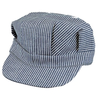 Rothco 5448 Hickory Striped Engineer Cap