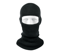 Rothco Black One Hole Face Mask - 5505