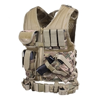 Rothco Multicam Tactical Cross Draw Vest - 6384