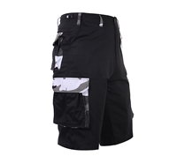 Rothco Black City Camo BDU Shorts - 7795